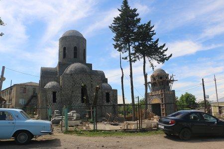 მეორე სვირში ღვთისმშობლის სახელობის ტაძარი შენდება
